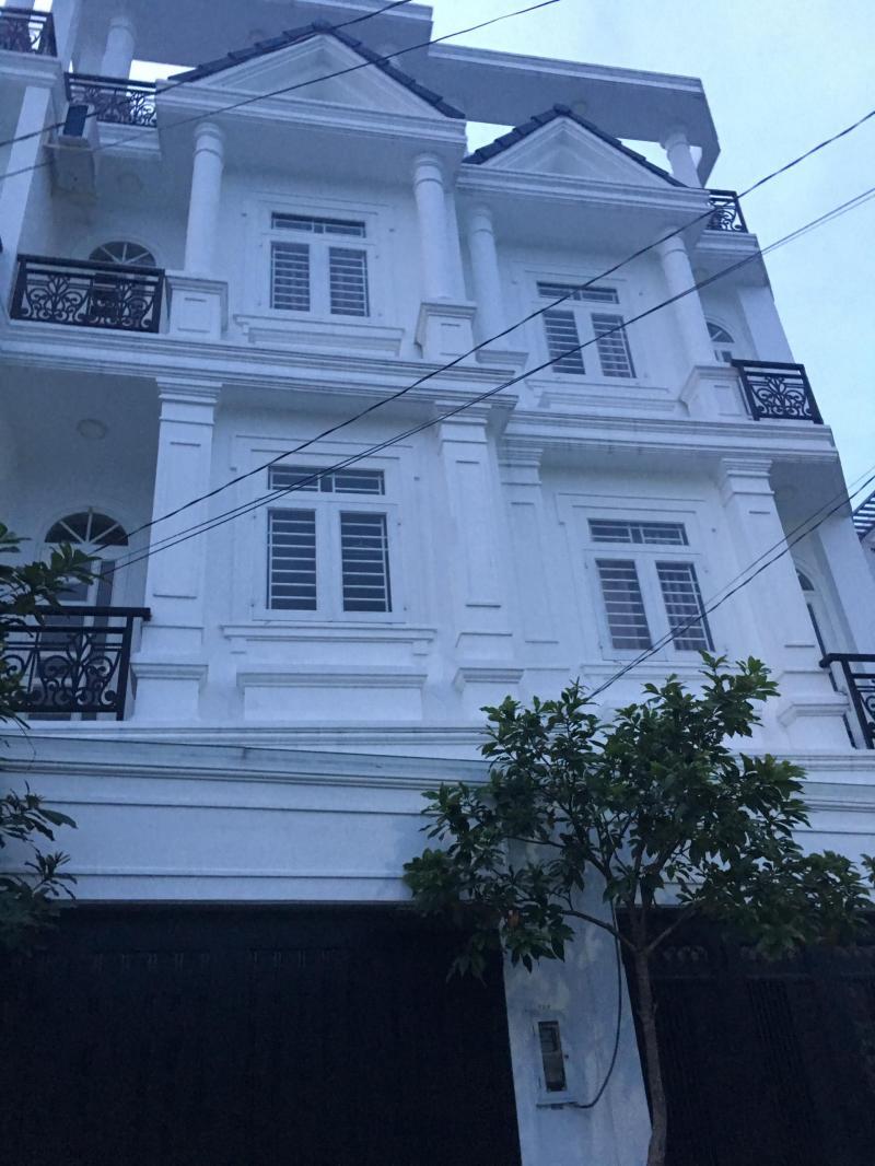 Bán nhà mời 1 trệt 3 lầu 56m2, HXH đường Hoàng Diệu 2, phường Linh Trung, Thủ Đức.