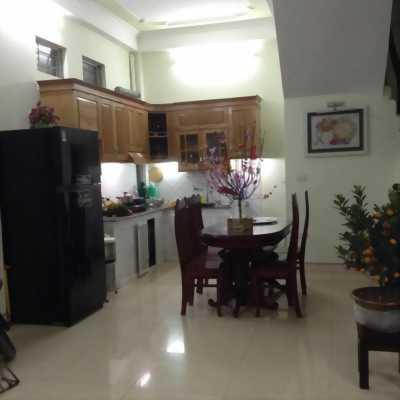 Nhà trong KDC Minh Châu