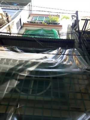 Bán Nhà Hẻm 472 CMT8 1 Trệt 3 Lầu + ST  Q3 HXH 4.5 Tỷ .