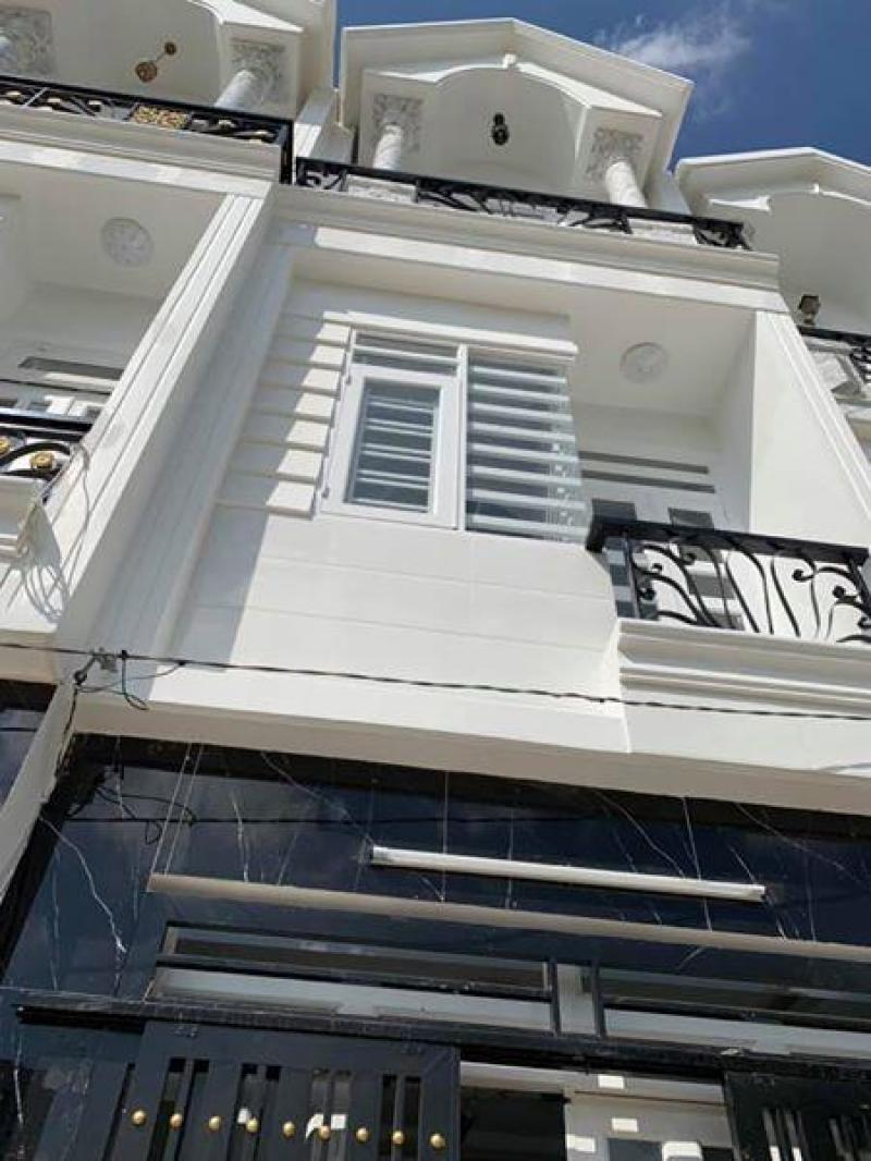 Bán nhà mới 2 lầu 1.67 tỷ đường Trần Thị Hè ,phường Hiệp Thành, Quận 12.