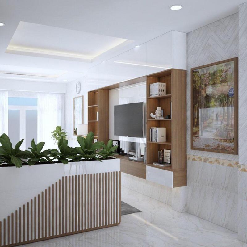 Chính chủ cần bán gấp nhà 5.19 tỷ , nội thất gỗ sang trọng nhà xây chất lượng 100%