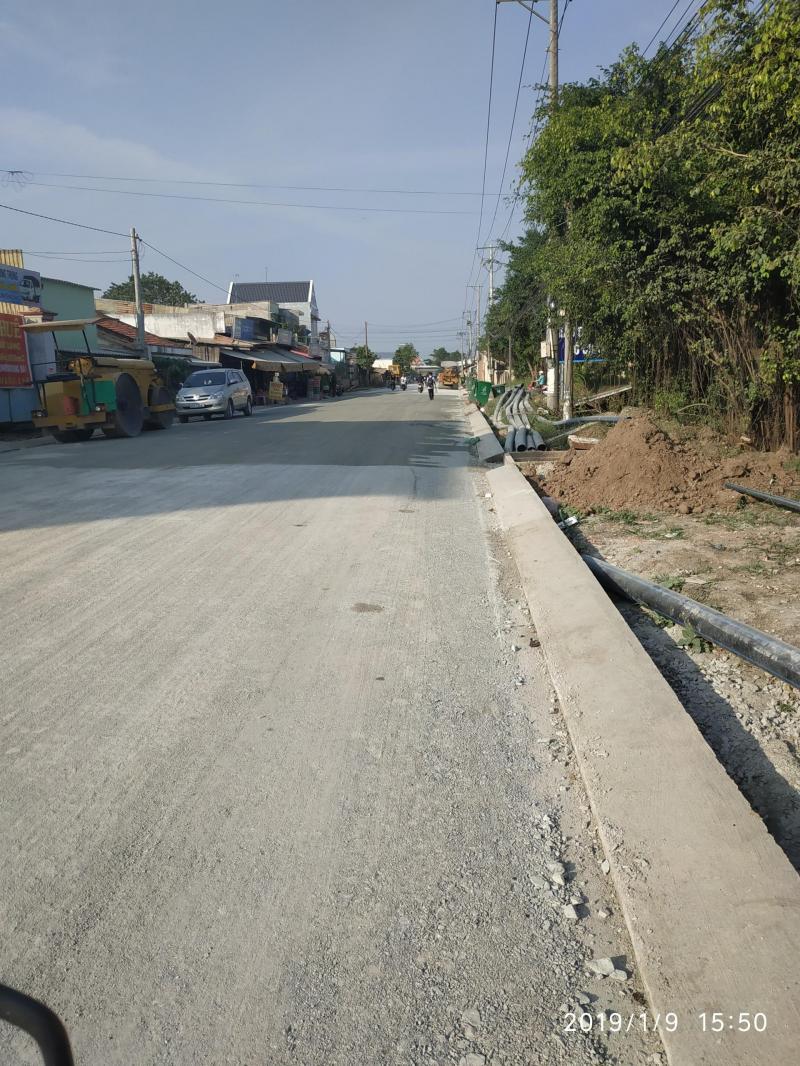 Bán 3344m2 đất để xây dựng làm kho, xưởng mặt tiền 835B, xã Long Hiệp, huyện Bến Lức, Long An.