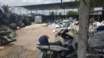 Bán đất xây kho bãi, nhà xưởng nằm ngay mặt tiền đường xã Mỹ Yên, Bến Lức, Long An.