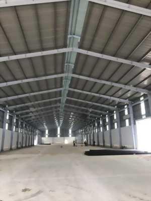 Cho thuê kho xưởng mới xây dựng nằm ngay mặt tiền Quốc lộ 1A trong trung tâm Thị trấn Bến Lức, tỉnh Long An