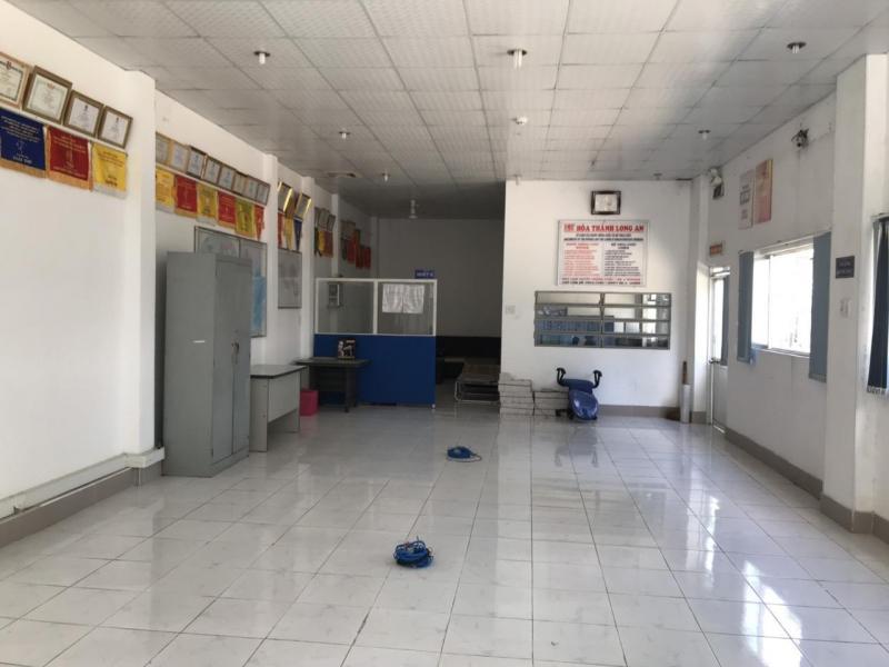 Cho thuê kho, nhà xưởng mặt tiền thuộc trung tâm Thị trấn Bến Lức, huyện Bến Lức, tỉnh Long An