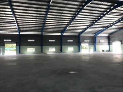 Cho thuê dài hạn kho xưởng sản xuất thuộc cụm KCN Nhựt Chánh, Bến Lức, Long An