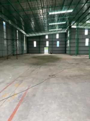 Công ty cho thuê kho xưởng mới xây kiên cố mặt tiền trung tâm Thị trấn Bến Lức, huyện Bến Lức, tỉnh Long An