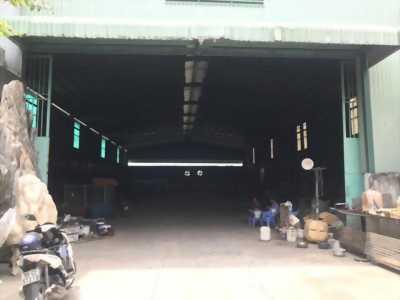 Cho thuê kho xưởng đạt chuẩn trong khuôn viên 3500M2 mặt tiền thuộc trung tâm Bến Lức, Long An