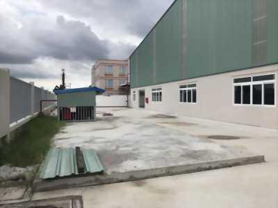 Cần cho thuê kho xưởng phù hợp làm nhựa tái chế mặt tiền trung tâm Thị trấn Bến Lức, huyện Bến Lức, tỉnh Long An