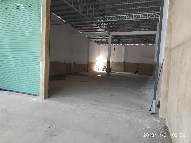 Cho thuê kho Xưởng 300m2 mặt tiền đường Đinh Đức Thiện, 25tr/tháng, có điện 3pha