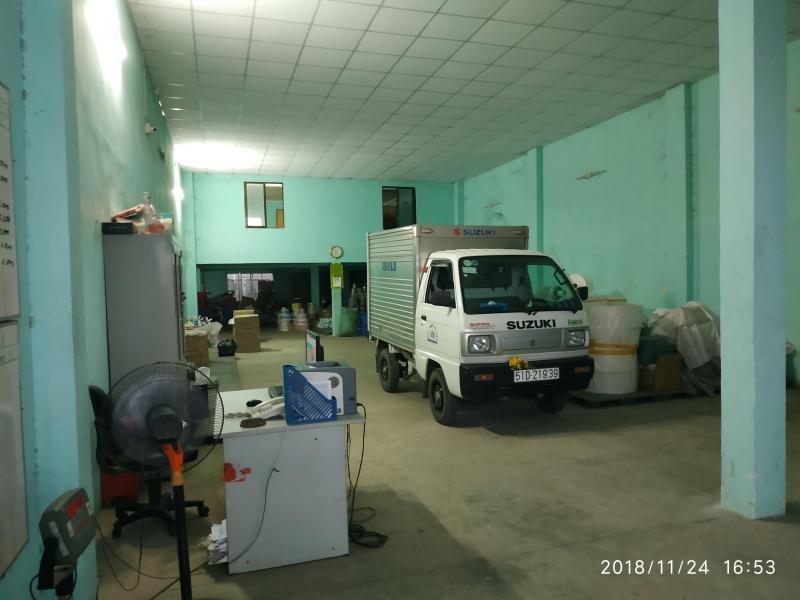 Cho thuê kho 490m2 mặt tiền Đường Vĩnh Lộc, có gác 70m2 và văn phòng thuận tiên kinh doanh SX