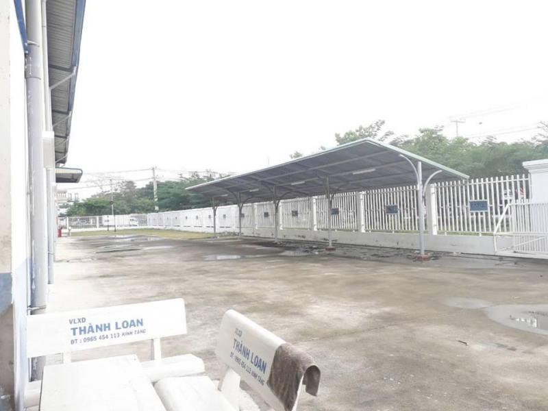 Cho thuê văn phòng, nhà trưng bày, mặt bằng tọa lạc mặt tiền thị trấn Tân Túc, huyện Bình Chánh.