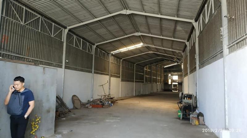 Cho thuê nhà xưởng 450m2 mặt tiền đường Bùi Thanh Khiết, Tân Túc, Bình Chánh. LH: 0938.101.316