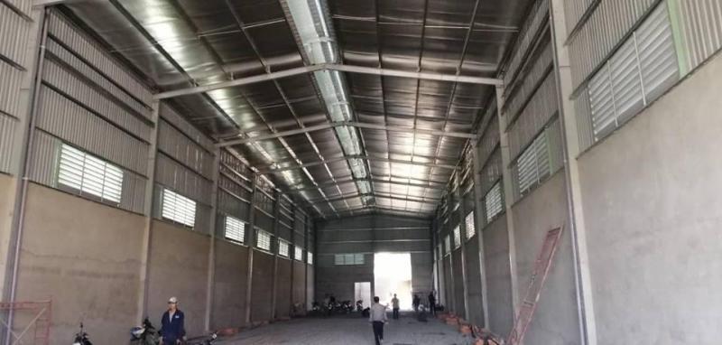 Kho mới xây 900m2 mặt tiền đường Thích Thiện Hòa, huyện Bình Chánh. Gọi ngay 0909 772 186