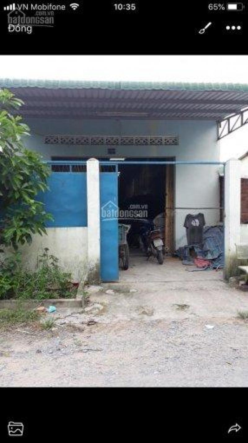 Cần tiền bán gấp nhà xưởng 2 MT đường Thanh Niên, Bình Chánh 10x30m