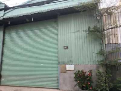Bán nhà kho mặt tiền đường Trần Văn Giàu, cách uỷ ban xã Phạm Văn Hai