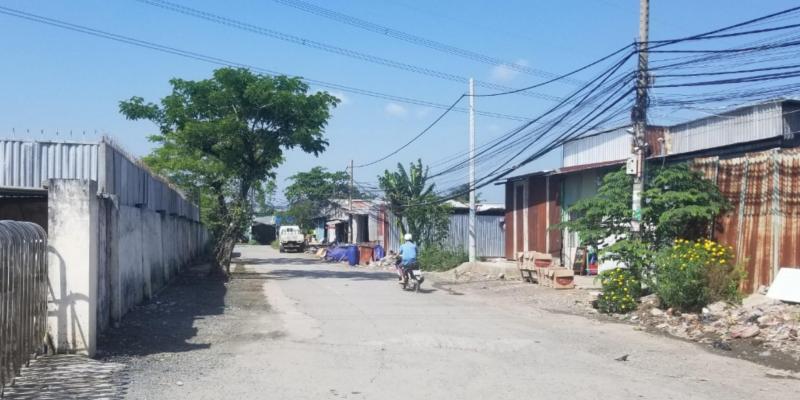 Cho thuê nhà xưởng mặt tiền đường Trịnh Quang Nghị, xã Phong Phú, huyện Bình Chánh, TP.HCM