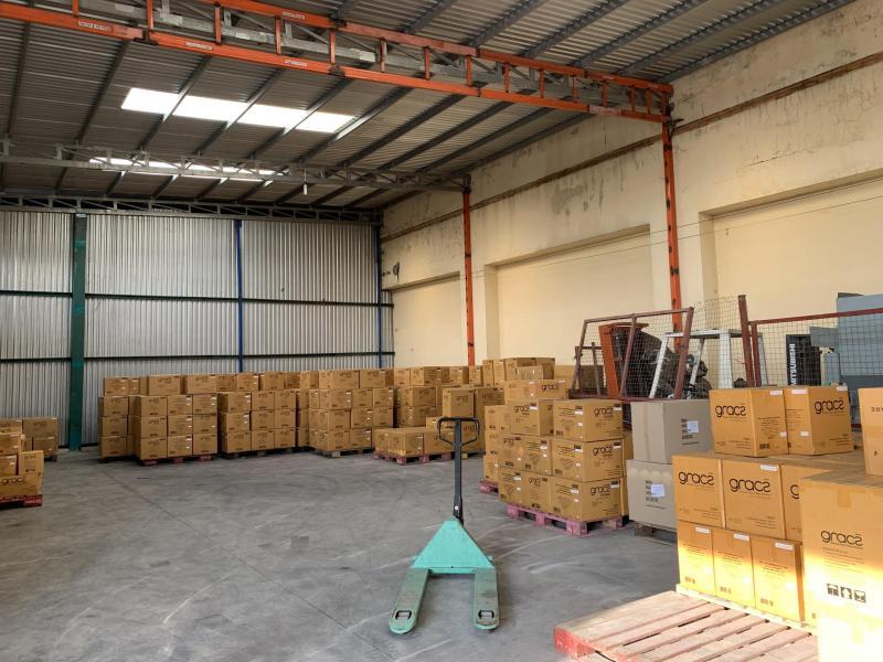 Cho thuê 600m2 kho xưởng mặt tiền Quốc lộ 1A thuộc huyện Bình Chánh.