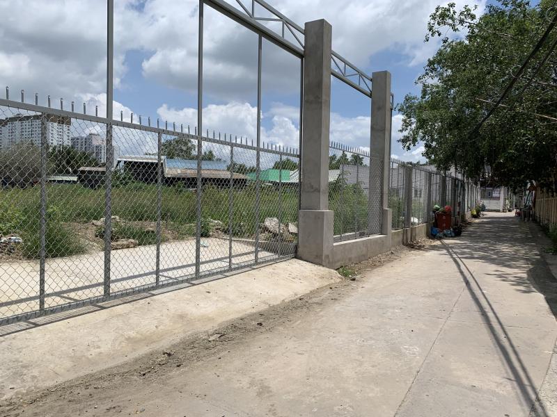 Cho thuê mặt bằng trống đường Quốc Lộ 50 xã Phong Phú, huyện Bình Chánh