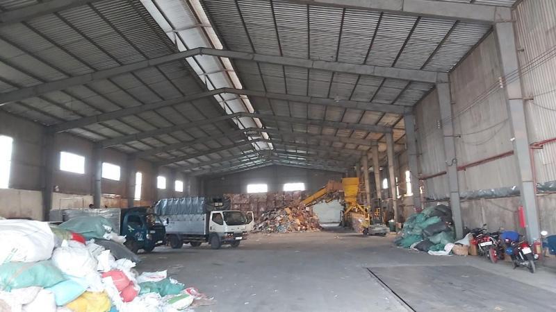 Cho thuê kho, nhà xưởng giá tốt ngay QL1a, Tân Kiên, Bình Chánh.