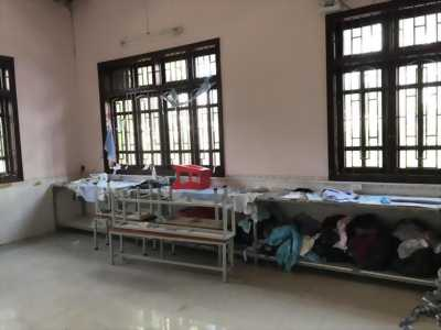 Cho thuê xưởng may nằm trên mặt tiền đường Tỉnh lộ 830 thuộc xã Long Khê, huyện Cần Đước, tỉnh Long An