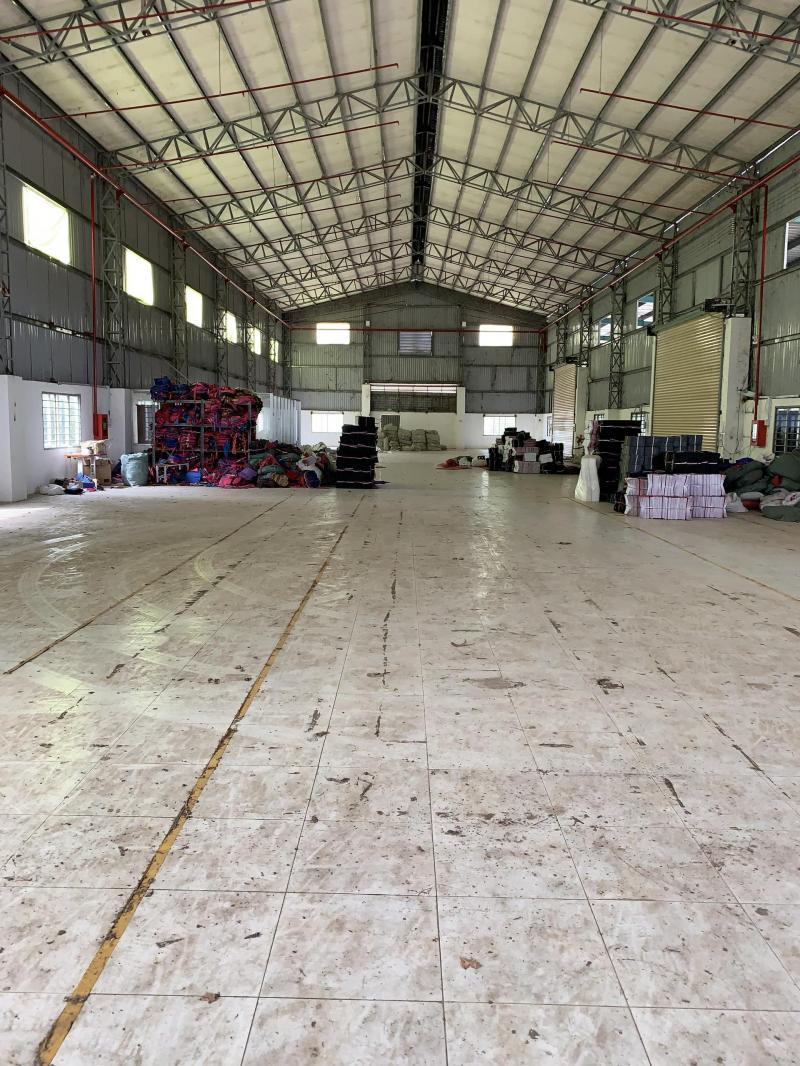 Cho thuê kho, nhà xưởng mặt tiền đường Tỉnh Lộ 826, xã Long Trạch, huyện Cần Đước, tỉnh Long An