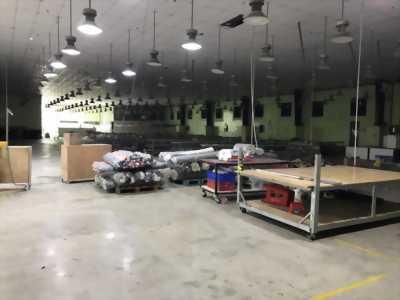 Công ty cần cho thuê lại xưởng may mặt tiền đường ĐT 834 thuộc Long Trạch, Cần Đước, Long An