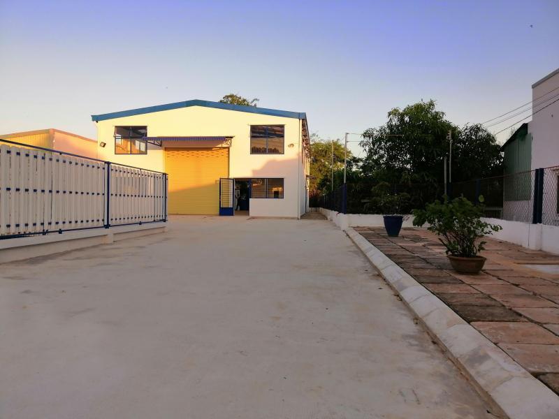 Cho thuê nhà xưởng 800m2 đường Nguyễn Thái Bình, ngay thị trấn Cần Giuộc, Long An