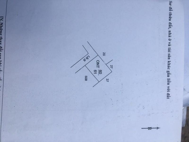 Bán đất 60m2 (6m * 10m), Cần Giuộc, Long An. Lh 0903 125 513
