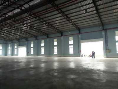 Cho thuê kho, nhà xưởng có văn phòng, giá tốt nhất khu vực KCN Long Hậu, Cần Giuộc, Long An