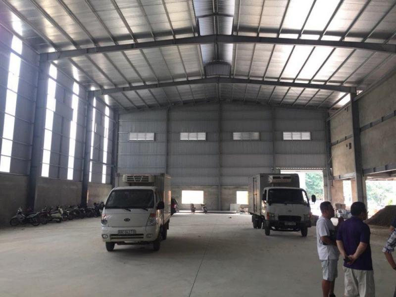 Cho thuê kho xưởng tiêu chuẩn tại Nguyên Khê đông anh hà nội DT 5015m2 (có cắt nhỏ)