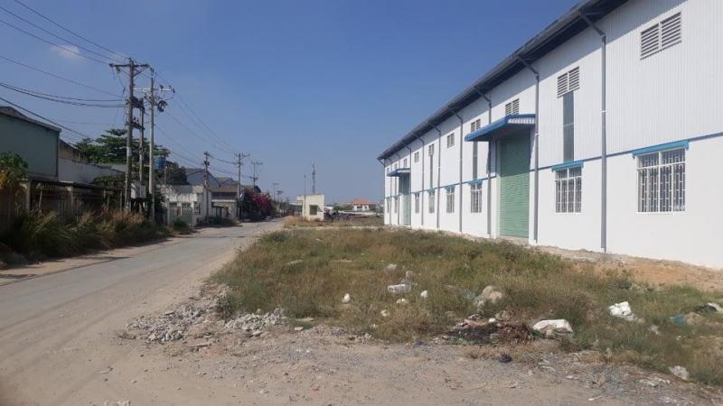 Cần cho thuê kho 5.040m2 trong khuôn viên 5.400m2 Đức Hòa Hạ, Long An.