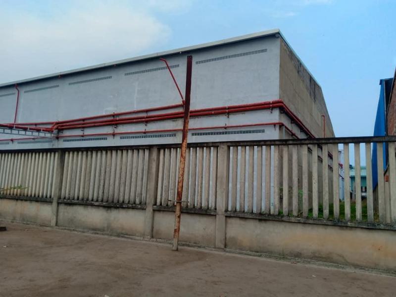Cho thuê kho 5.200m2 trệt, lầu,giá 55.000đ/m2 khu công nghiệp Tân Đô