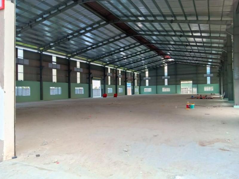 Cho thuê 6.000m2 có sẵn xưởng và văn phòng trong kcn Tân Đức Mở Rộng - Long An