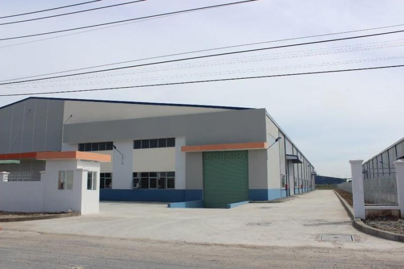 Cho thuê nhà xưởng 9.800m2, trong KCN Tân Đô, huyện Đức Hòa. LH 0945.825.408 Mr.Long