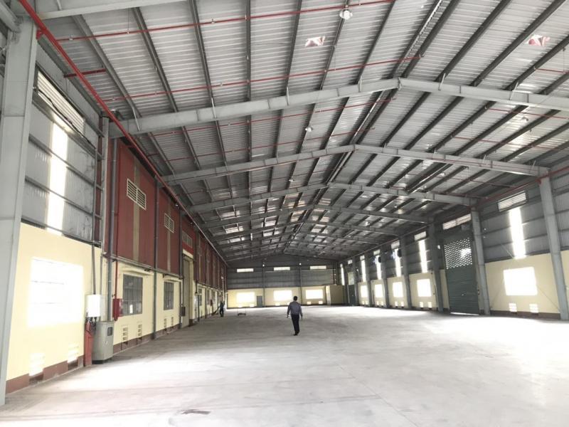 Cho thuê kho mặt tiền trong khu công nghiệp Tân Đức, Tỉnh lộ 825, Đức Hòa, Long An.