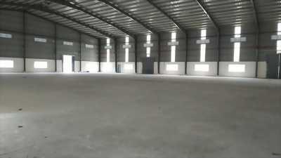 Cho thuê kho xưởng mặt tiền Khu công nghiệp Hải Sơn, Đức Hòa, Long An