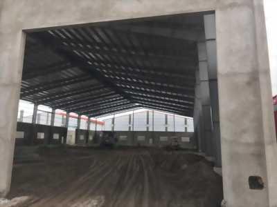 Cho thuê nhà xưởng kiên cố, mới xây mặt tiền khu công nghiệp Hải Sơn, Đức Hòa, Long An