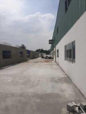 Cho thuê hoặc bán kho xưởng mới xây mặt tiền trong cụm công nghiệp Đức Hòa Đông