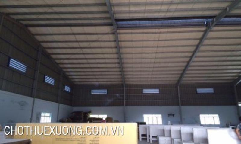 Cho thuê xưởng mới xây tại Khoái Châu Hưng Yên