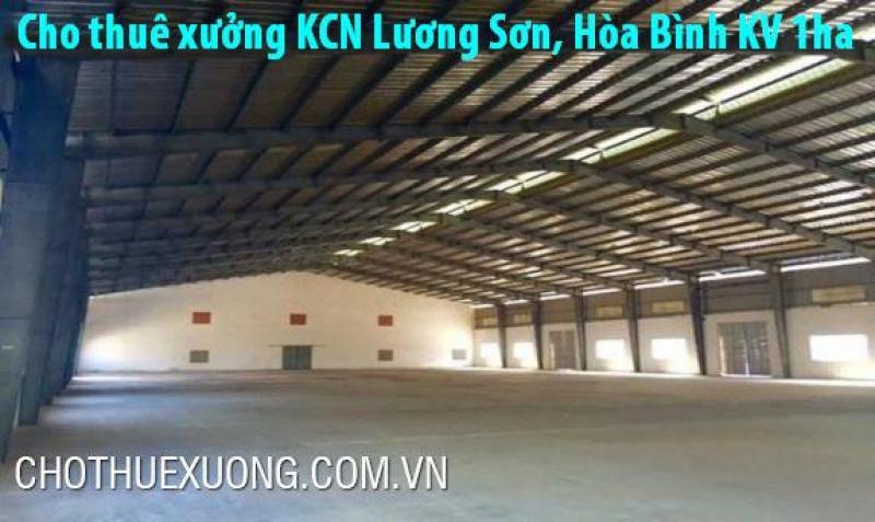 Cho thuê gấp nhà xưởng tiêu chuẩn mới tại KCN