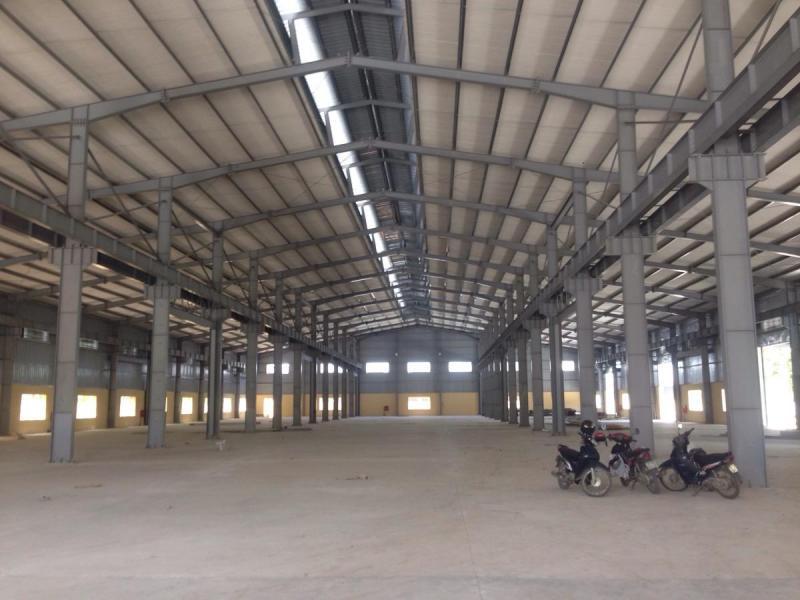 Cho thuê nhà xưởng 3 tầng khu công nghiệp Hoàng Diệu