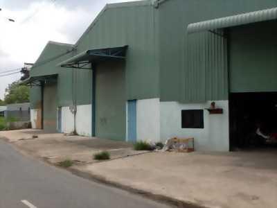 Cần cho thuê nhà xưởng có sẵn làm kho hoặc làm nơi sản xuất