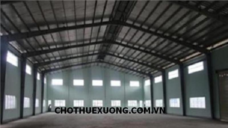Cho thuê kho bãi nhà xưởng tại Trí Qủa Hà Mãn Thuận Thành Bắc Ninh DT 810m2