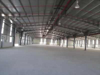 Cho thuê nhà xưởng trong cụm KCN Giang Điền, vị trí giao thông thuận lơi, giá cả cạnh tranh.