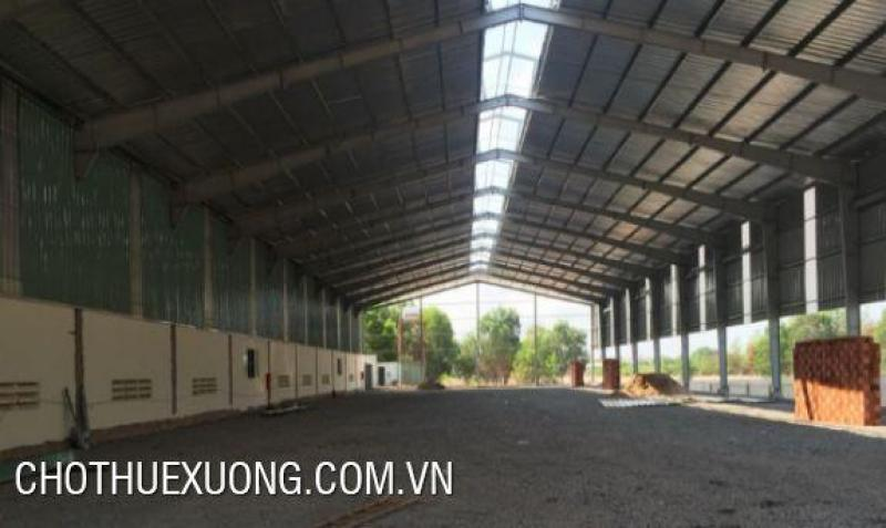 Cần cho thuê gấp nhà xưởng tiêu chuẩn tại Yên Mô Ninh Bình DT 4505m2 giá tốt