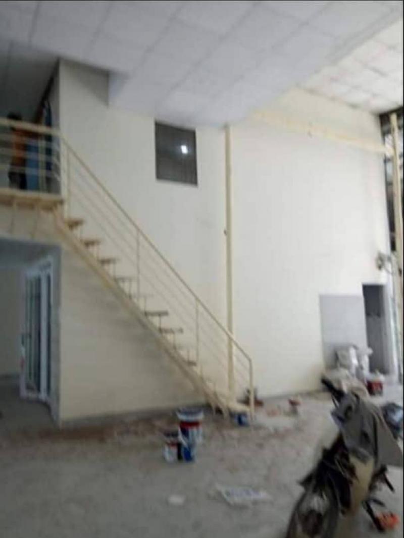 Cho thuê xưởng 15m x 50m, mặt tiền QL1A, p. An Phú Đông, Q.12