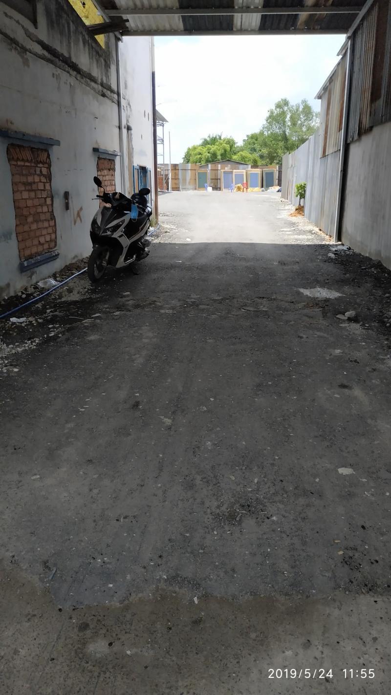 Cho thuê nhà xưởng mặt tiền đường Trịnh Quang Nghị, Phường 7, Quận 8.