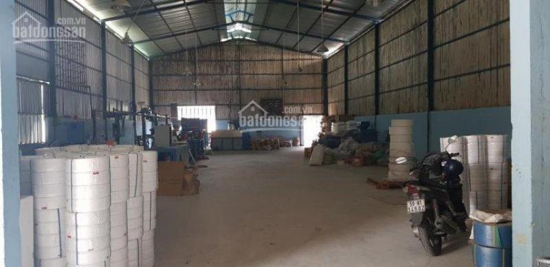 Cho thuê kho xưởng rộng 600m2 phường Bình Hưng Hòa B, Quận Bình Tân.