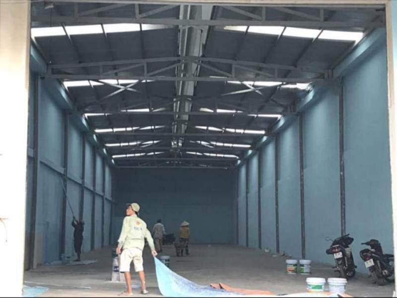 Cho thuê nhà xưởng Đường Bình Thành, Quận Bình Tân từ 300m2 - 1.000m2.